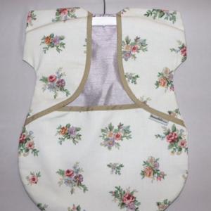 Peg Bag Cream Floral 2