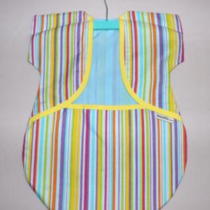 Peg Bag Coloured Stripes