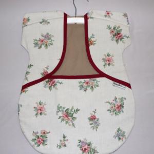 Peg Bag Cream Floral 3