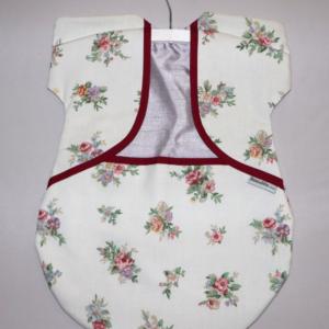 Peg Bag Cream Floral 5