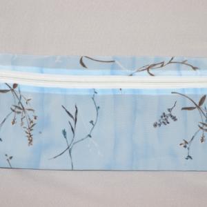 Make-up/Pencil Bag Baby Blue Floral